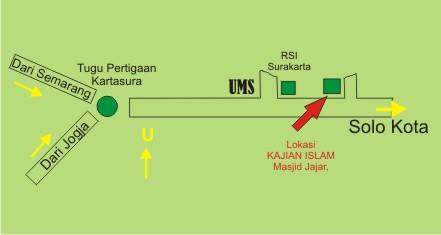 Denah Masjid Jajar