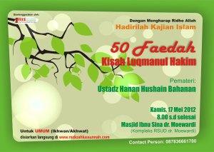 50 Faidah dari Kisah Luqmanul Hakim