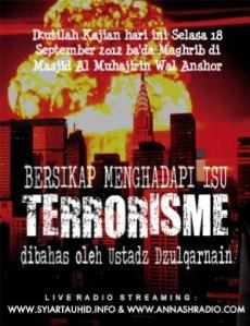 Bersikap Menghadapi Isu Terorisme