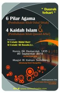 """6 Pilar Agama"" & ""4 Kaidah Islam"""