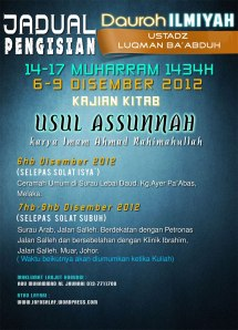 20121206 Daurah Malaysia