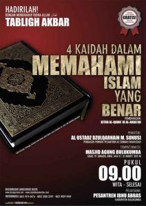 Empat Kaidah dalam Memahami Islam yang Benar